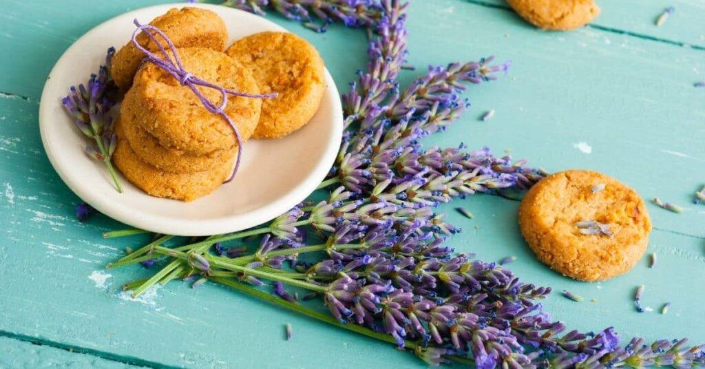 Lavendel-Kekse