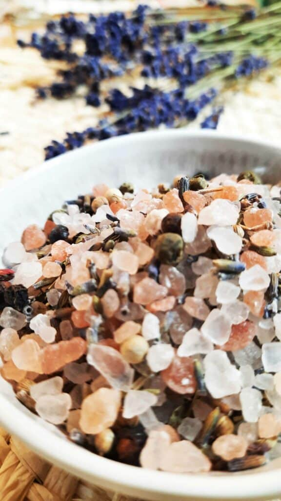 DIY-Lavendel-Salz